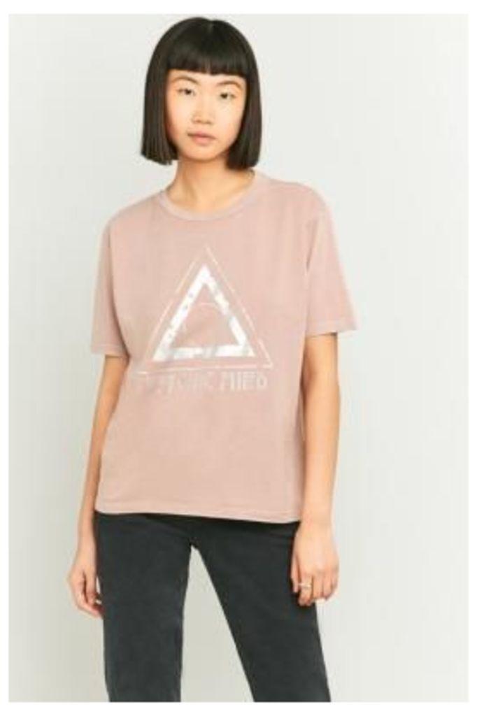 BDG Foil Symbol T-shirt, PINK
