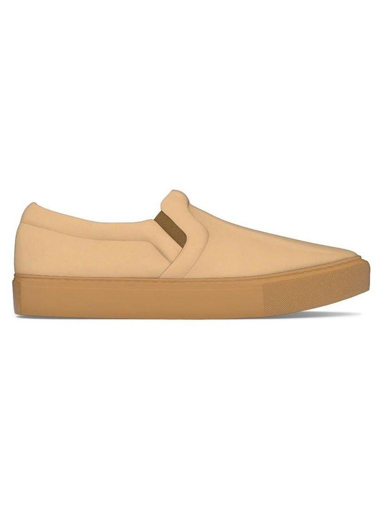 Myswear - 'Maddox' slip-on sneakers - women - Calf Leather/rubber - 36, Nude/Neutrals