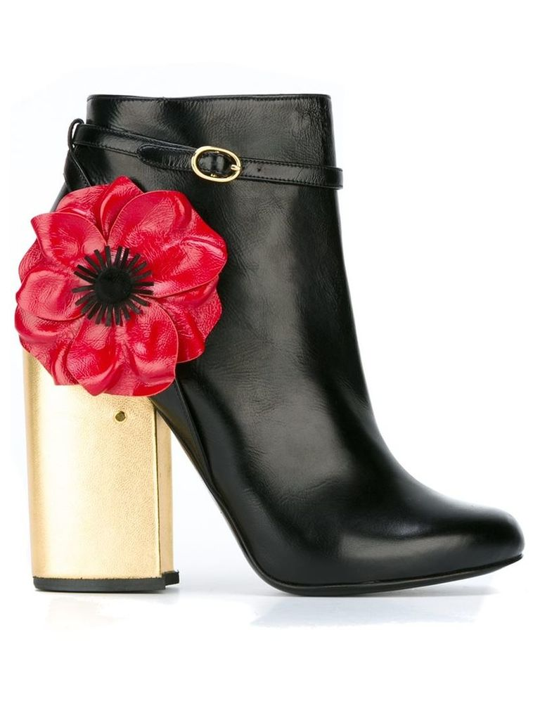 Laurence Dacade - 'Mirabelle' boots - women - Calf Leather/Leather - 38, Black