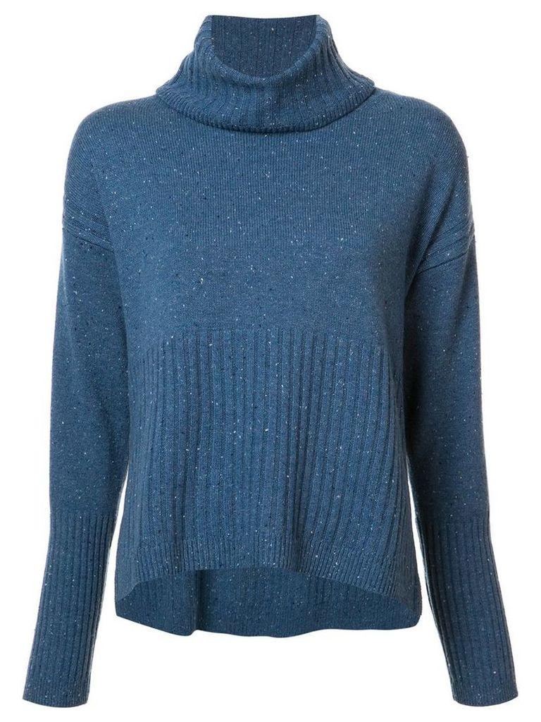 Derek Lam 10 Crosby - cashmere roll-neck jumper - women - Cashmere - S, Blue
