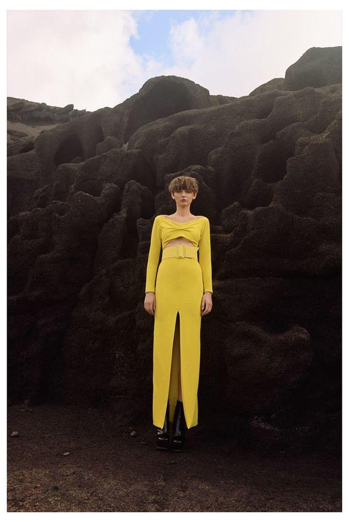 Adalene Maxi Canary Yellow