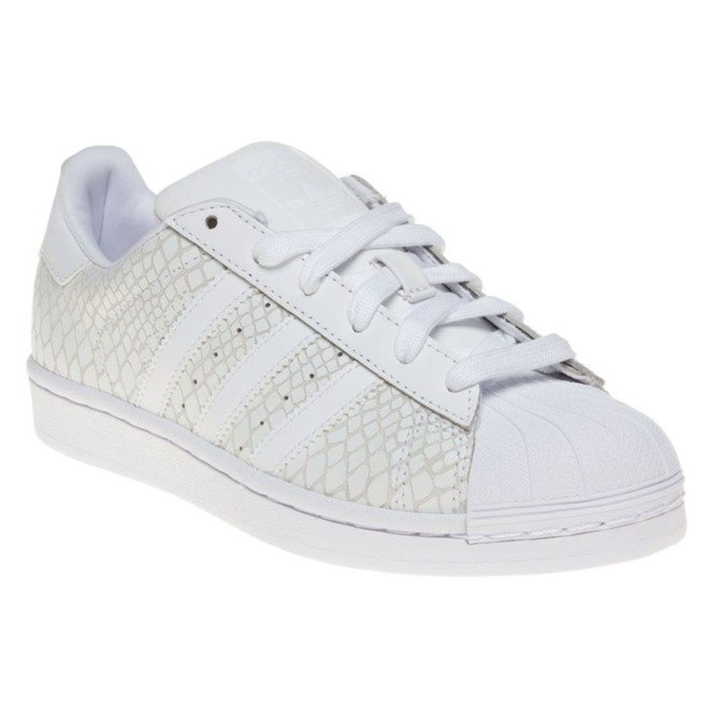 adidas Superstar Trainers, White