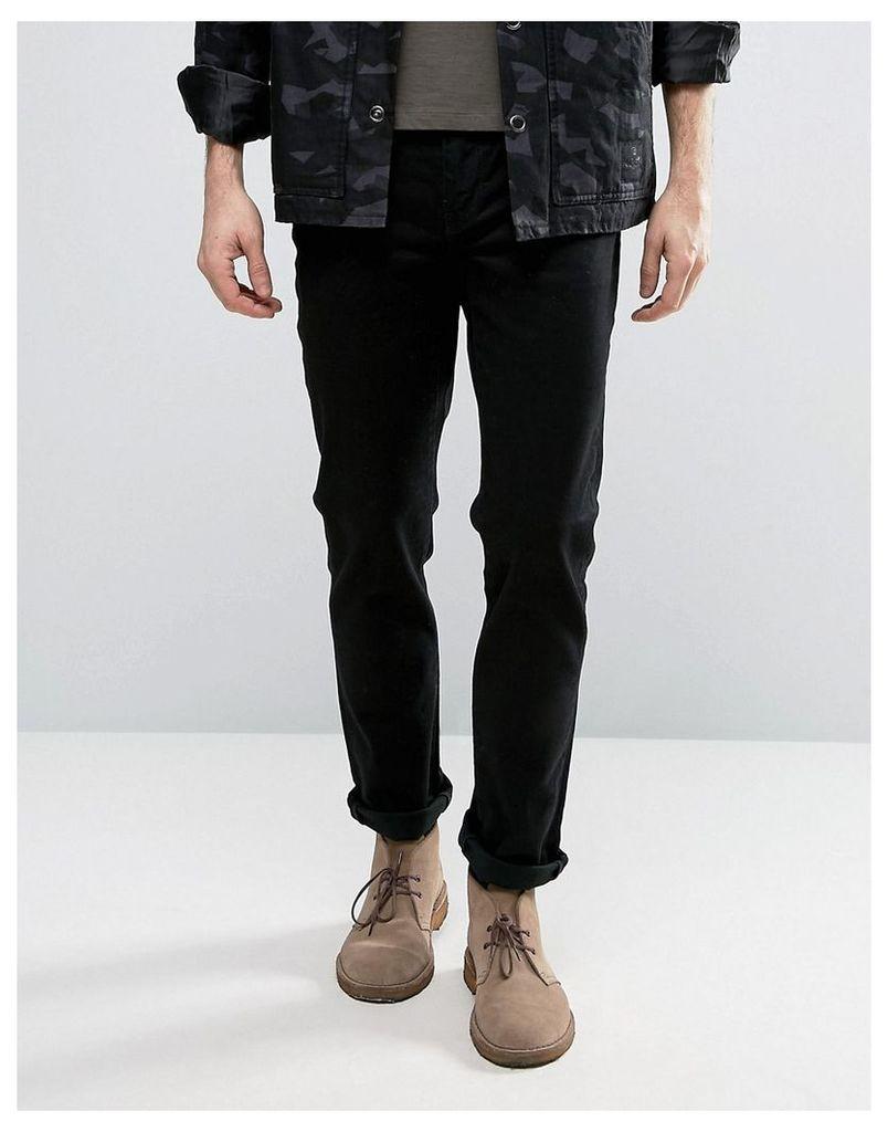 Levis 511 Slim Fit Jeans Nightshine Black Wash - Nightshine