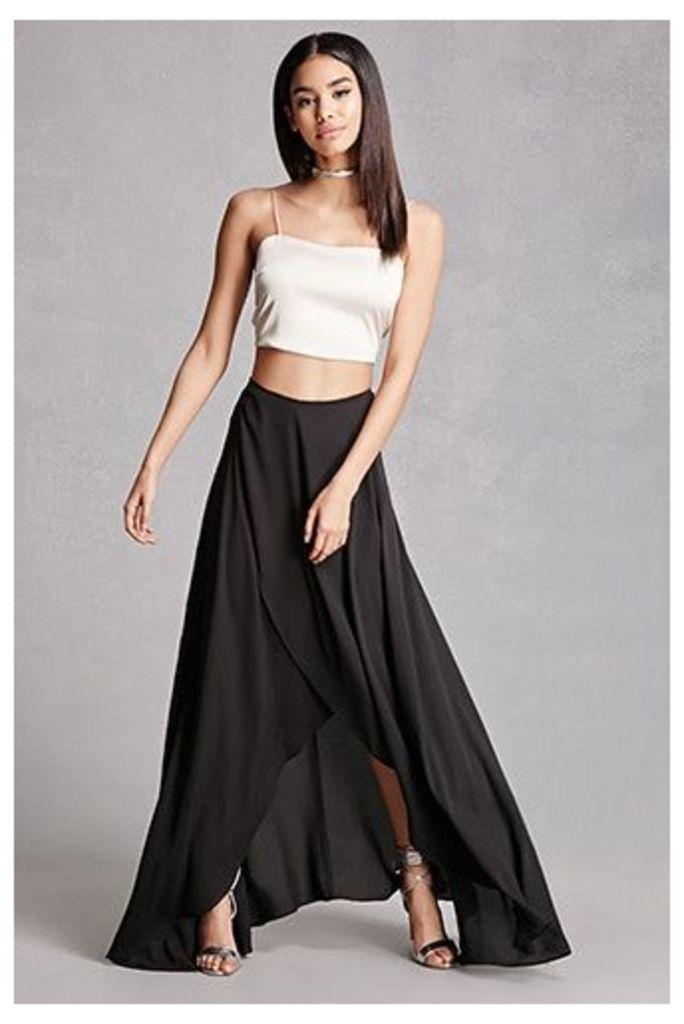Selfie Leslie Maxi Wrap Skirt
