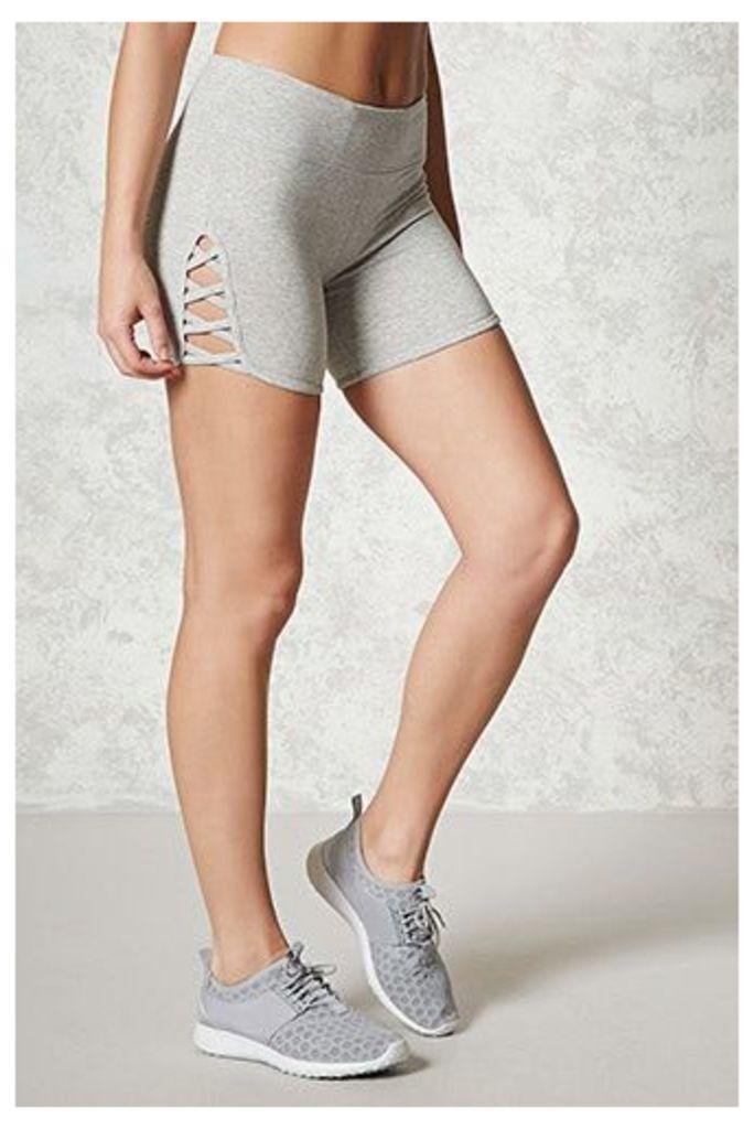 Active Cutout Bike Shorts