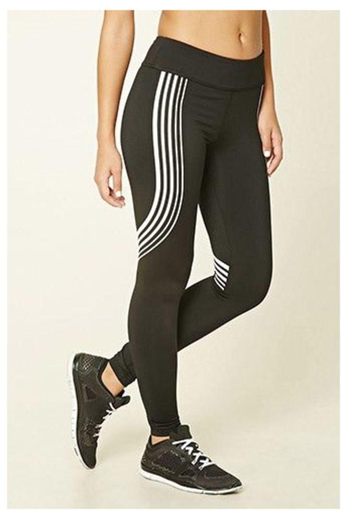 Active Striped Leggings