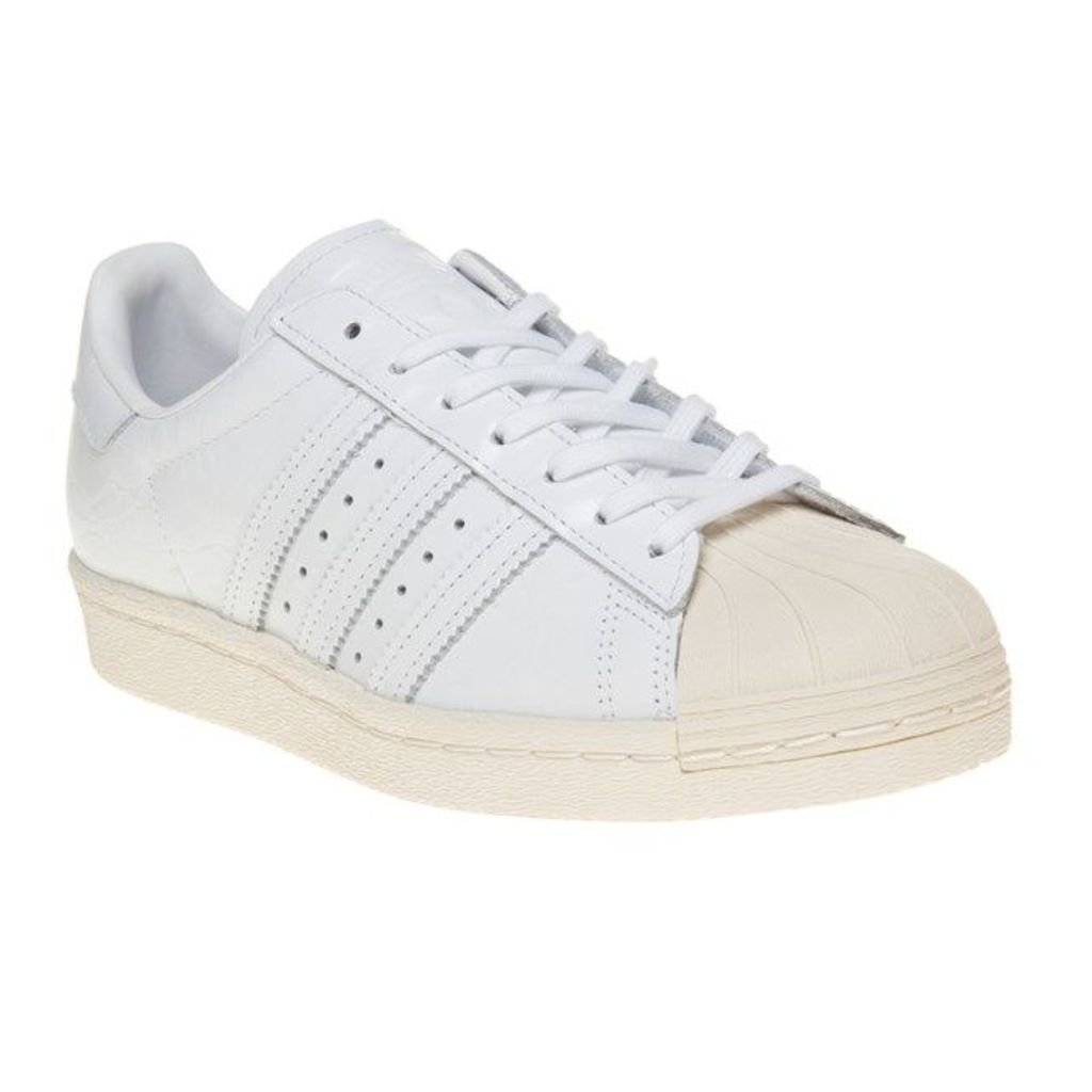 adidas Superstar 80's Trainers, Ftw White