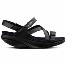 Mbt  KIBURI W  women's Sandals in Black