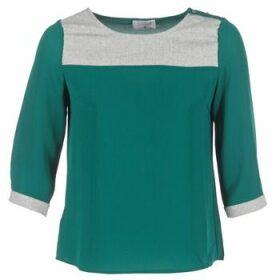 Casual Attitude  HELA  women's Blouse in Green