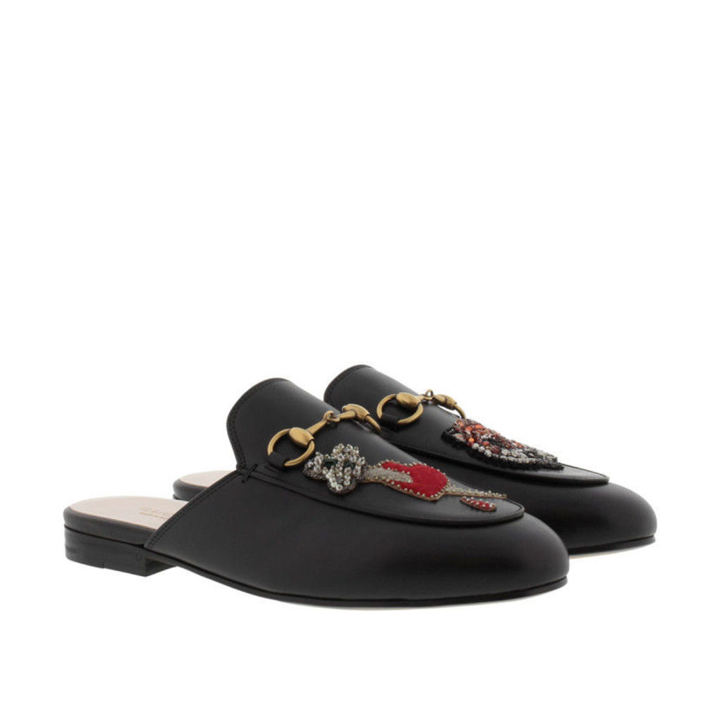 Gucci Loafers & Slippers - Princetown Slipper Embellished Black - in black - Loafers & Slippers for ladies
