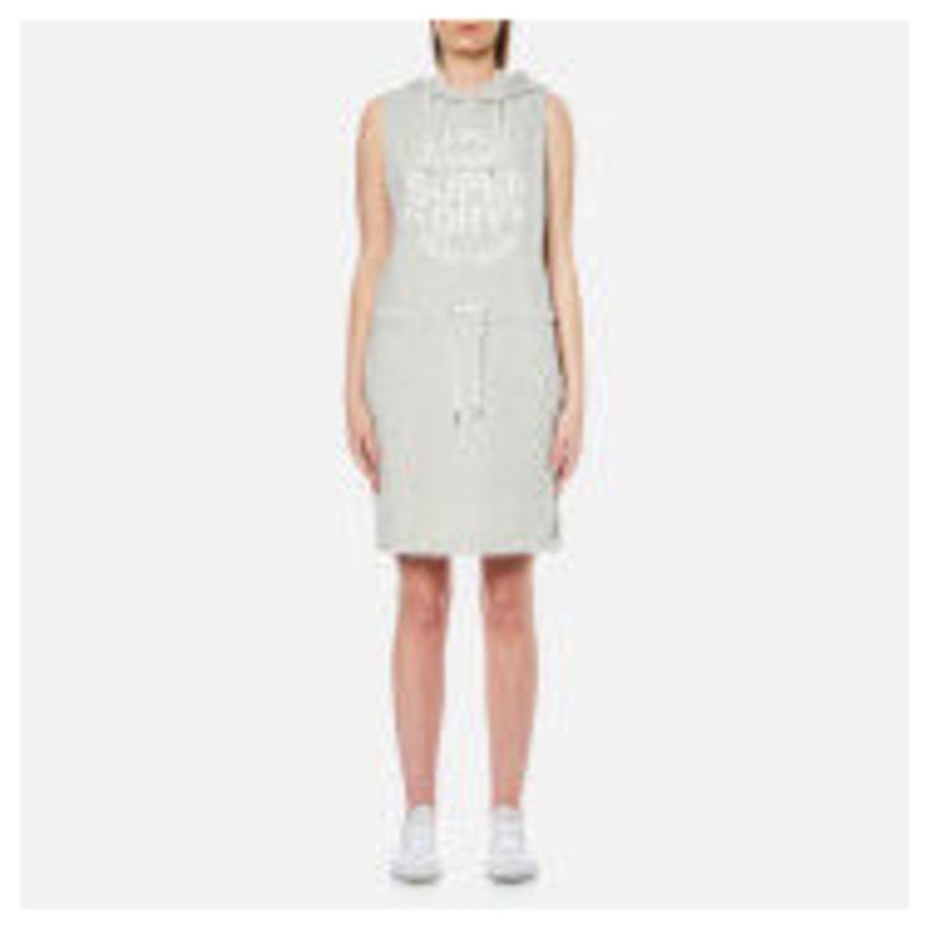 Superdry Women's Athletic League Loopback Dress - 90's Athletic Grey Marl