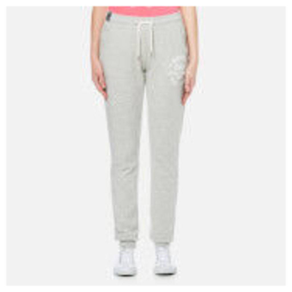 Superdry Women's Athletic League Cuff Joggers - 90's Athletic Grey Marl
