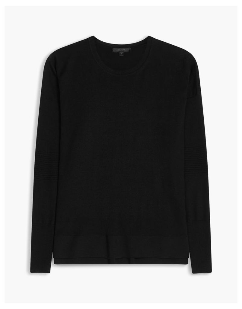 Belstaff Sarah Crew Neck Jumper Black