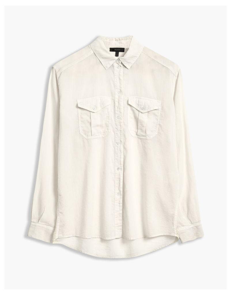 Belstaff Mabel Shirt Off White
