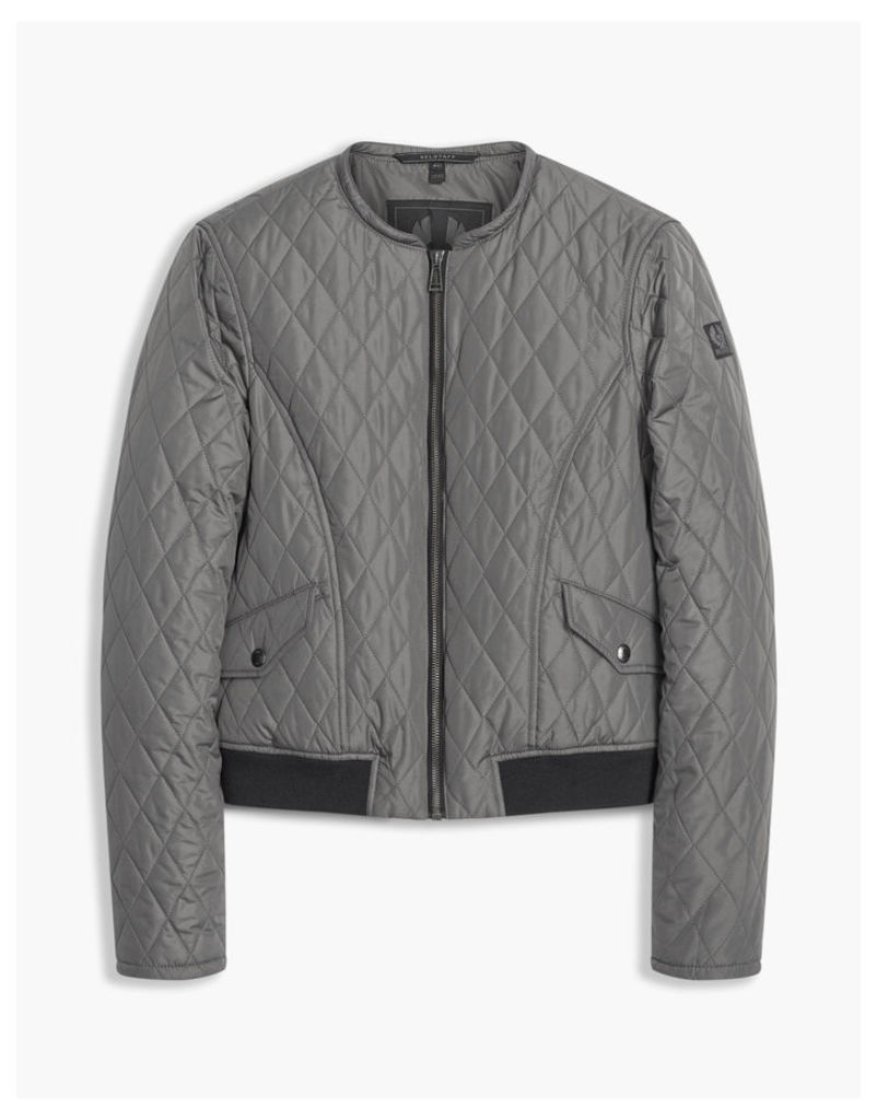 Belstaff Cassell Quilted Jacket Grey