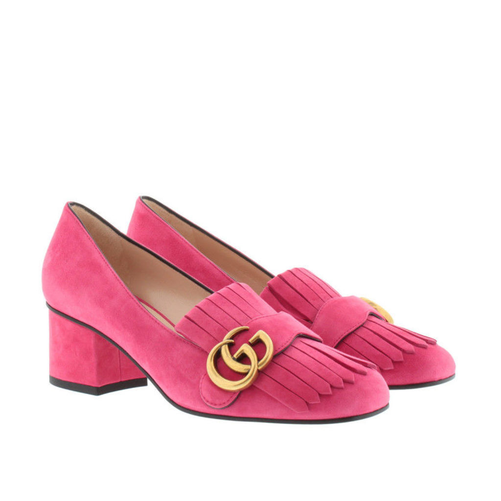 Gucci Pumps - Kid Scamosciato Pump Hot Pink - in rose - Pumps for ladies