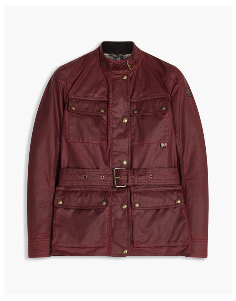 Belstaff Roadmaster Jacket Red