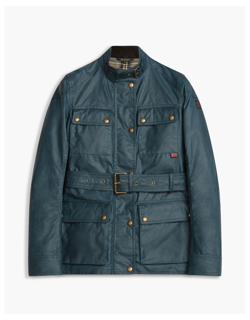 Belstaff Roadmaster Jacket Blue