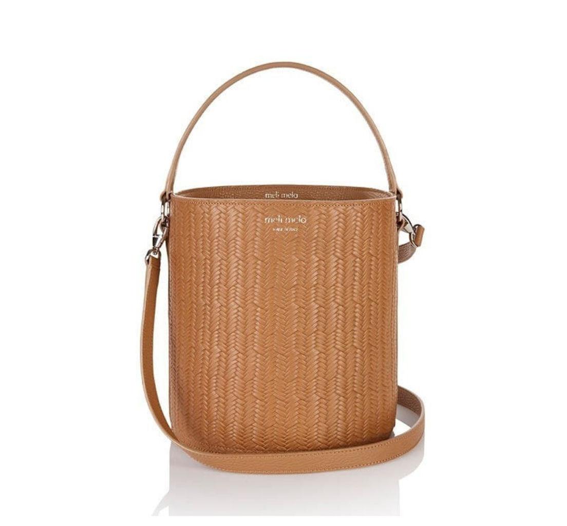 Santina Bucket Bag Light Tan