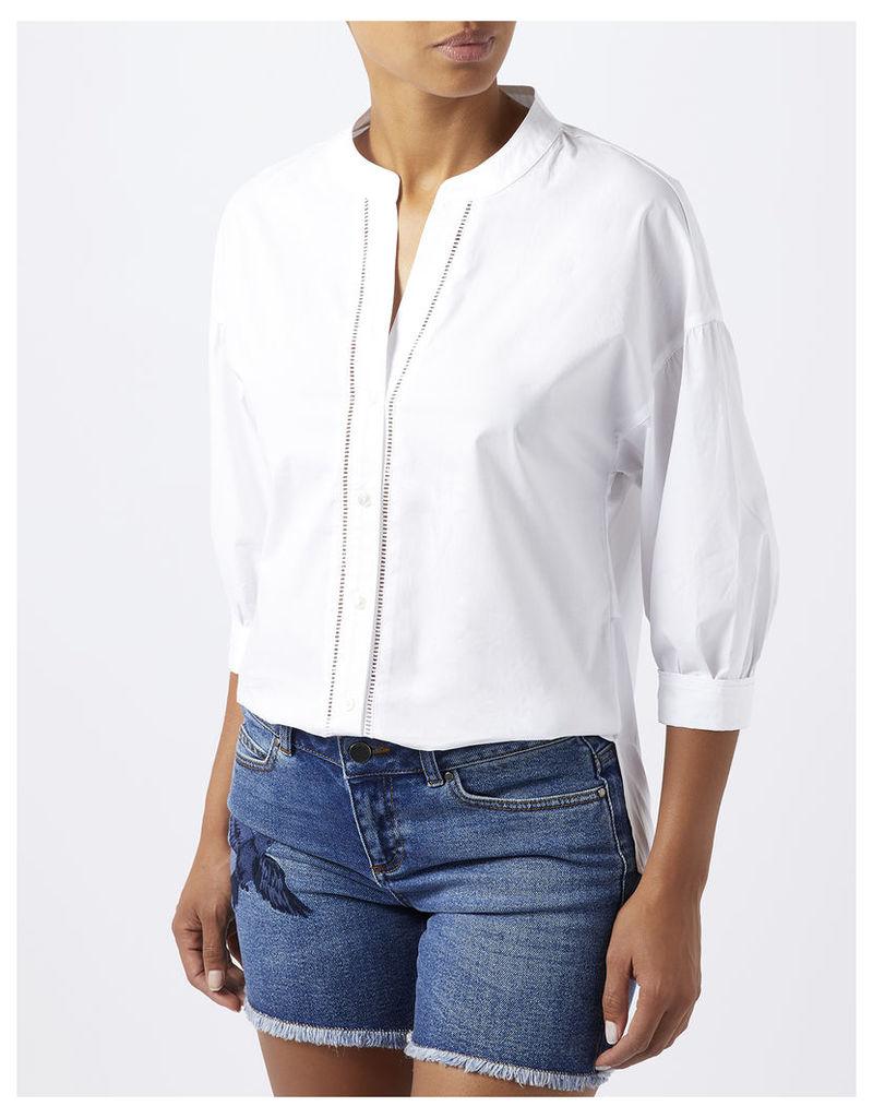 Leona Cotton Poplin Shirt