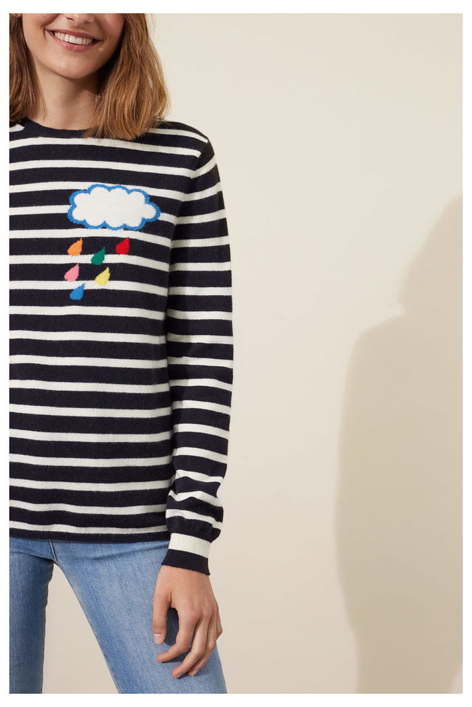 NEW EXCLUSIVE Breton Raincloud Cashmere Sweater
