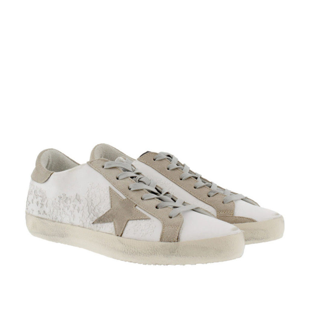 Golden Goose Sneakers - Superstar Sneakers White Embroidery - in white - Sneakers for ladies