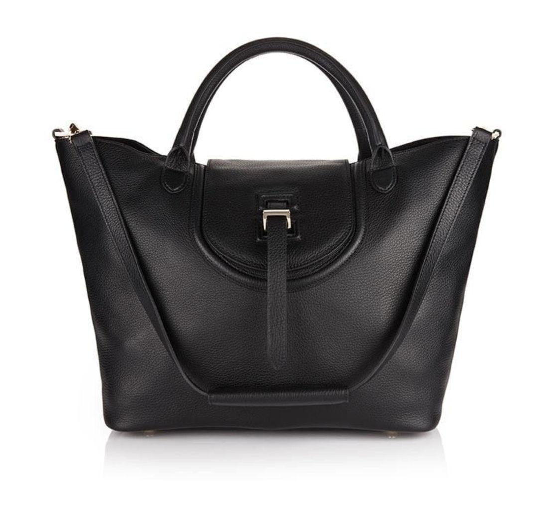 Halo Handbag in Black