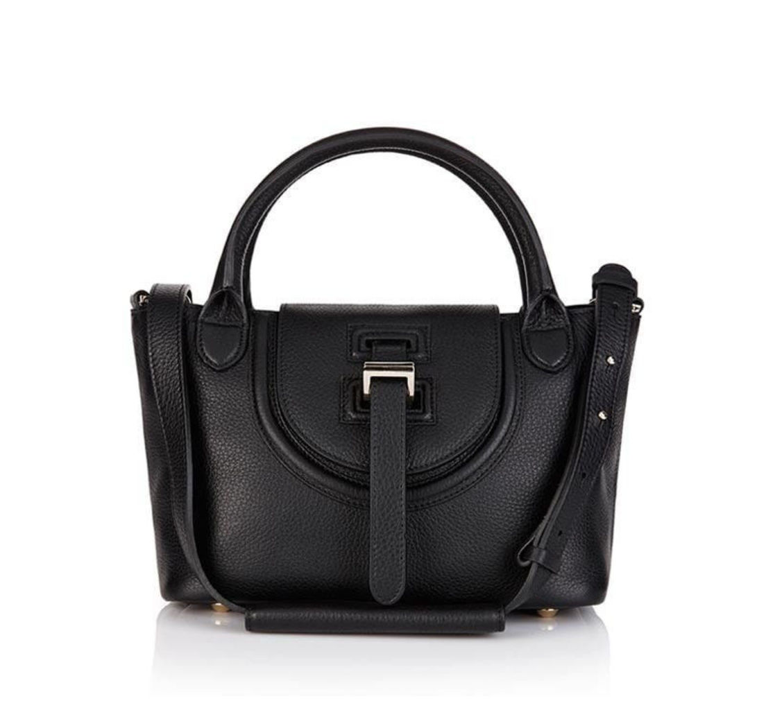 Halo Mini Bag in Black