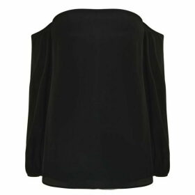 Theory Off Shoulder Laureema Top