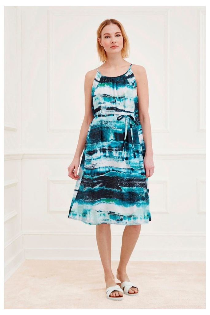 Zambezi Pleated Dress