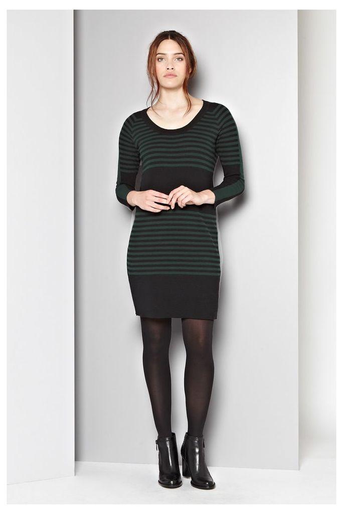 Sweden Striped Jumper Dress