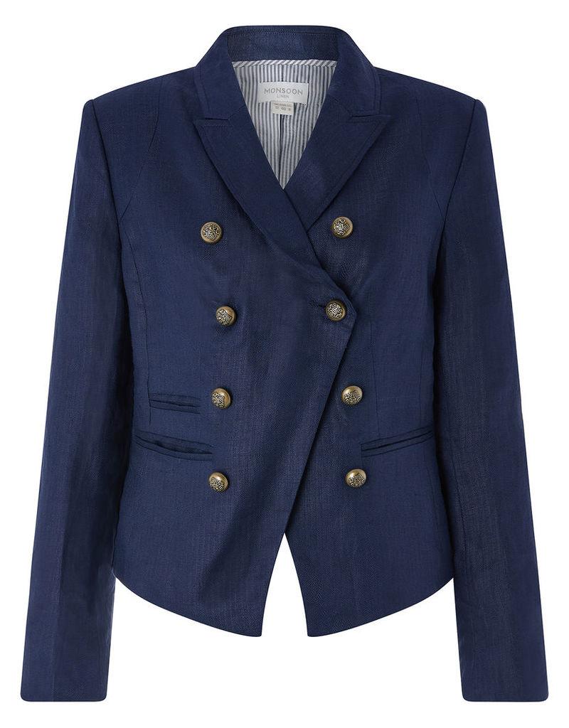 Addison Linen Military Jacket