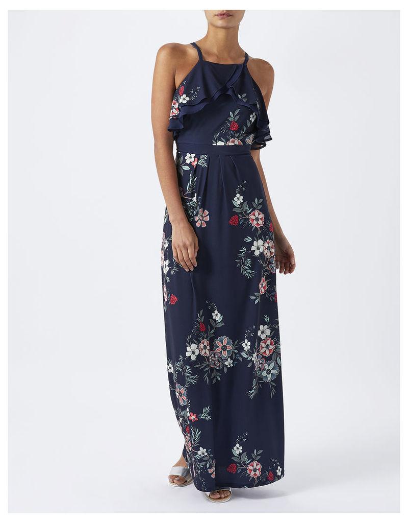 Sabina Shorter Length Floral Maxi Dress