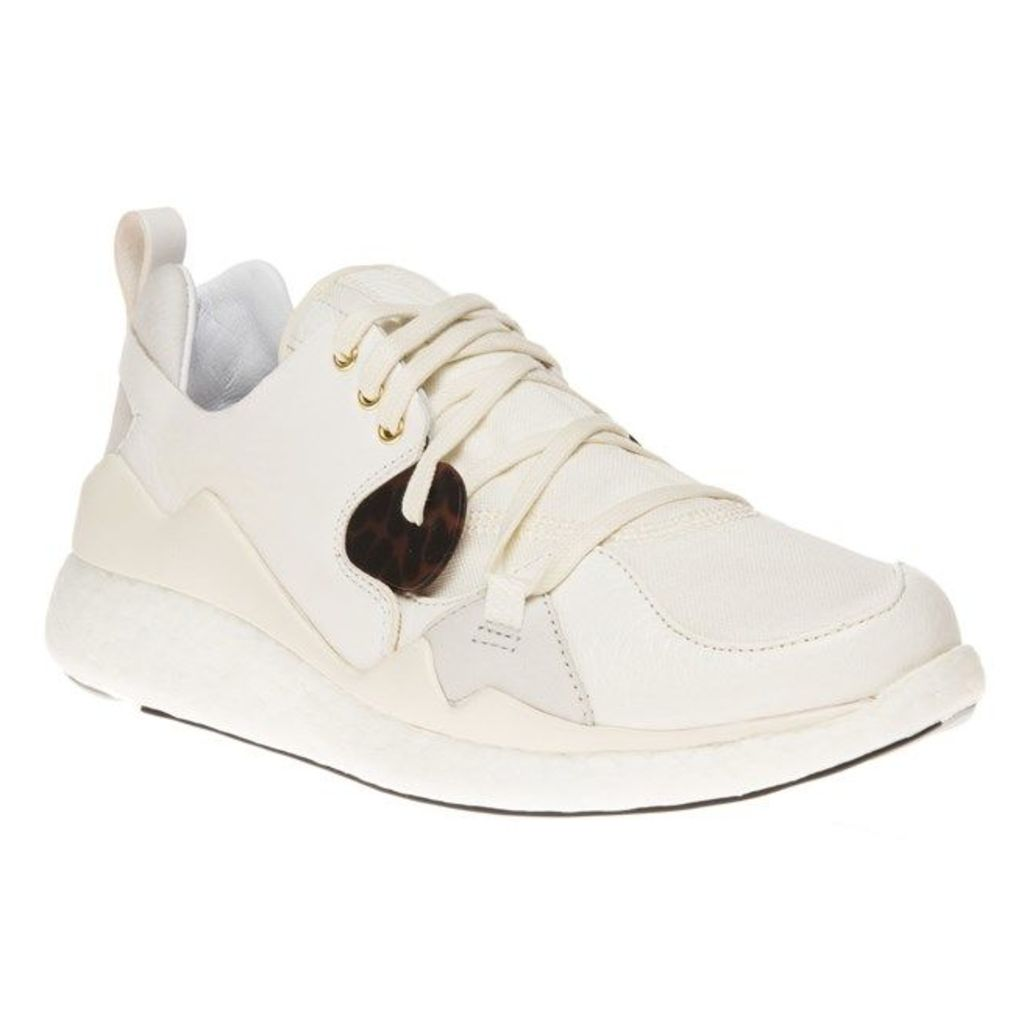 Y3 Femme Boost Lace Trainers, Ftw White/Cream