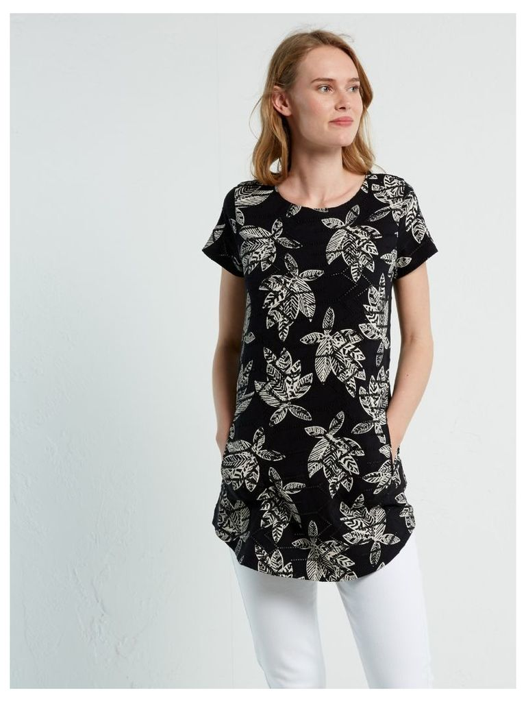 MILA BRODERIE JERSEY TUNIC