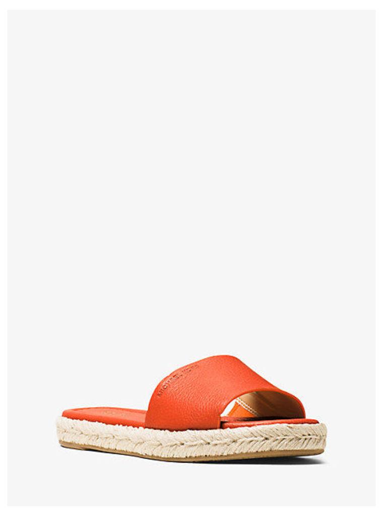 Dempsey Leather Slide