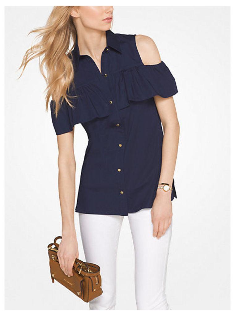 Peekaboo Button-Up Shirt