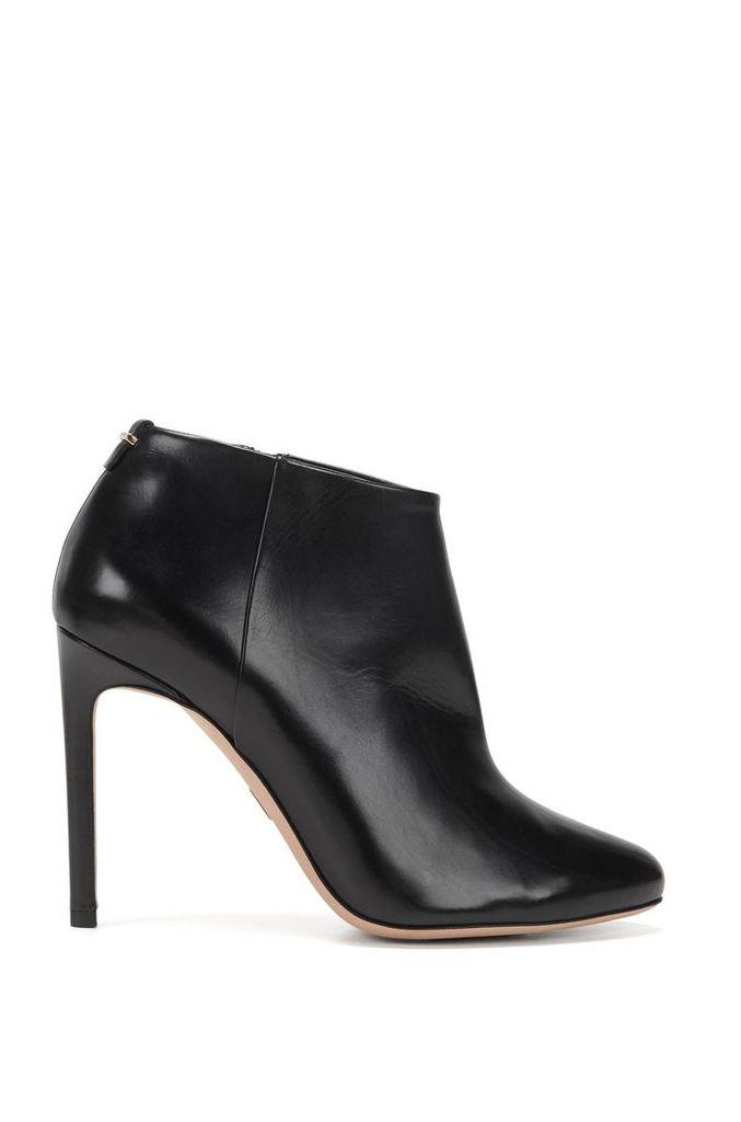 BOSS Luxury Staple boots in Italian leather
