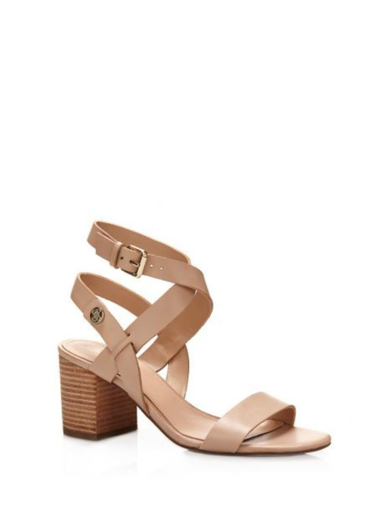 Guess Najya Real Leather Sandal