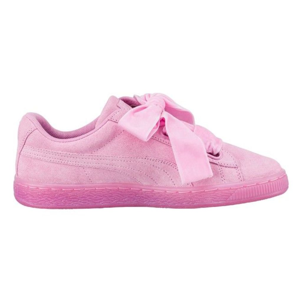 Suede Heart Reset Trainers