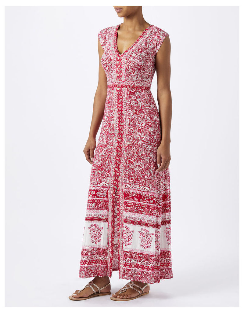 Coco Print Jersey Maxi Dress