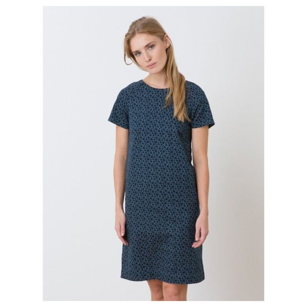 Cotton twill dress in a Somewhere exclusive Pastilles print, HIROTO