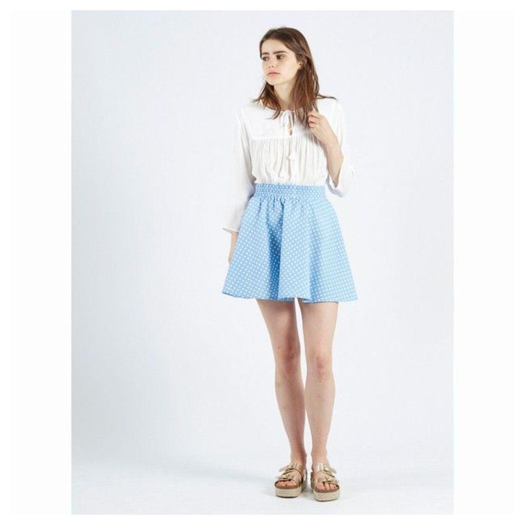 Falda Cecilia Polka Dot Skater Skirt