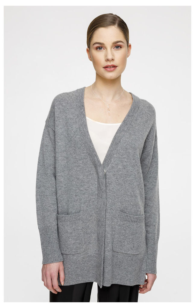 Wool Cashmere Cardigan