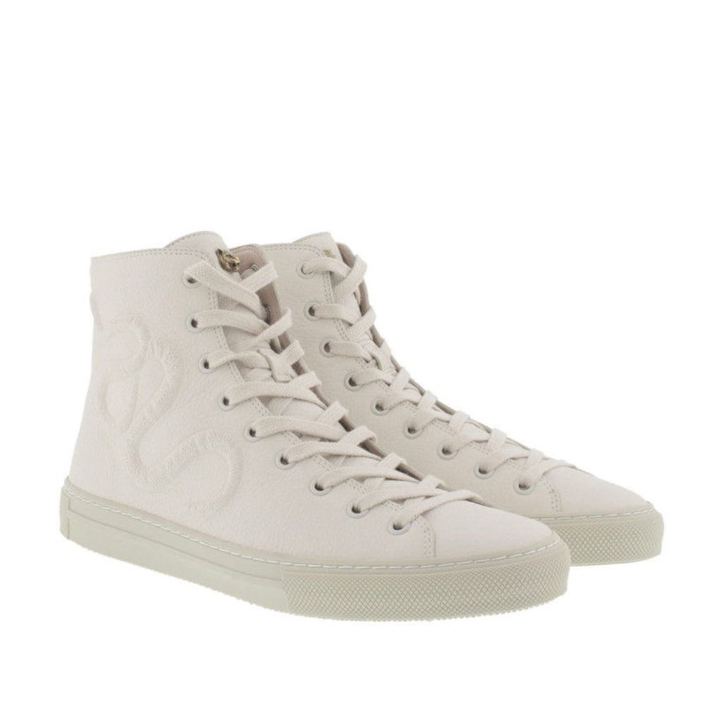 Gucci Sneakers - Snake Hightop Sneaker White - in white - Sneakers for ladies