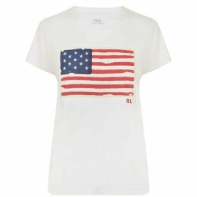 Polo Ralph Lauren Flag T Shirt