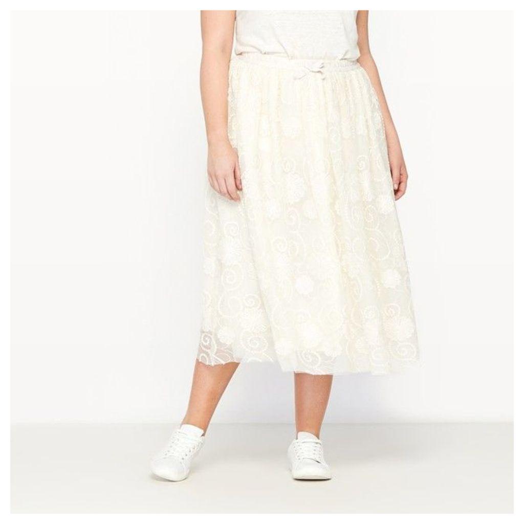 Dotted Tulle Tutu Skirt