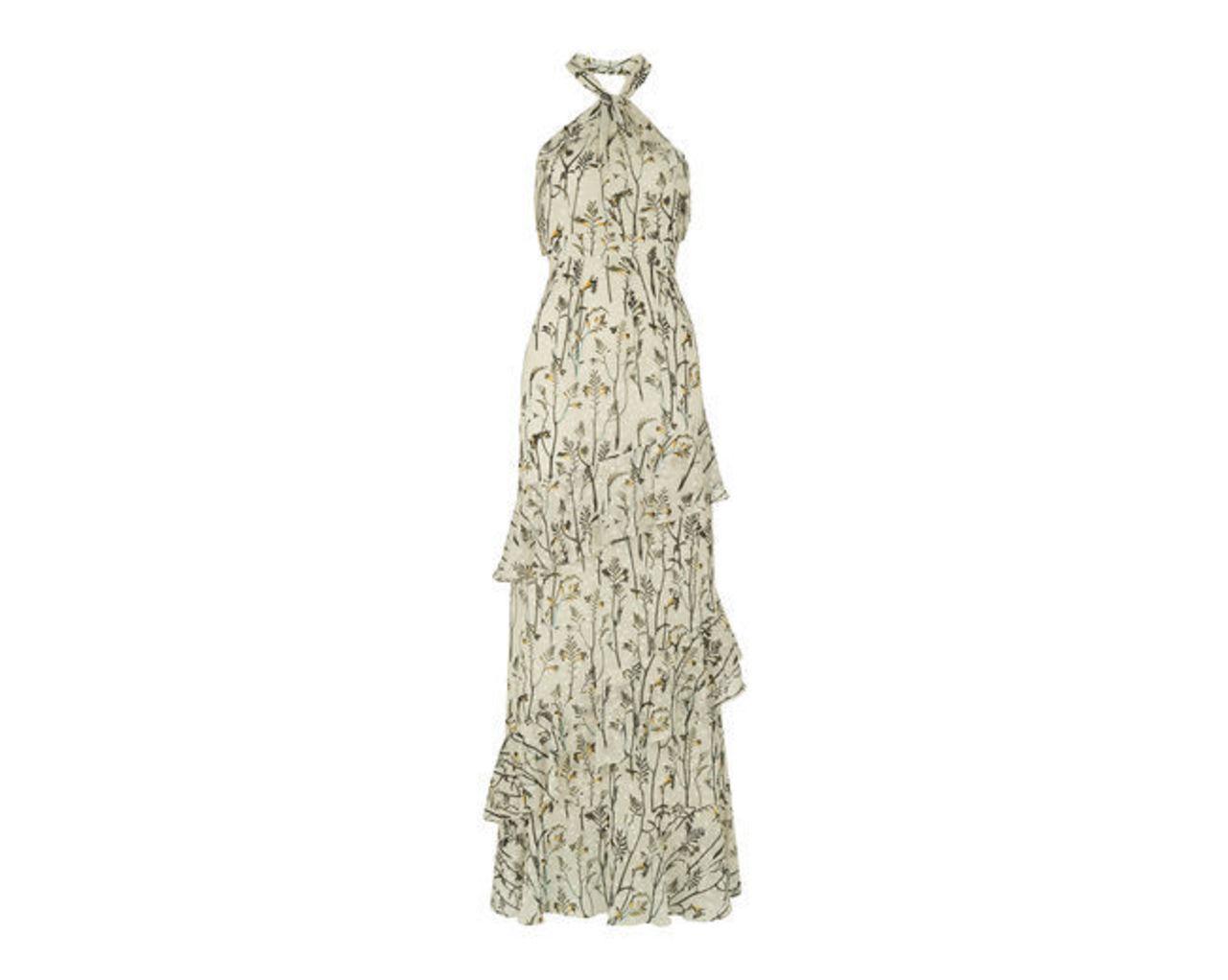 Wheatsheaf Print Maxi Dress