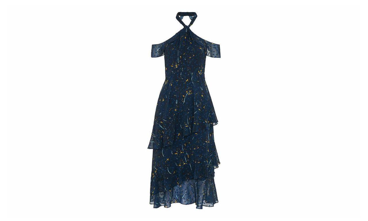 Wheatsheaf Cold Shoulder Dress