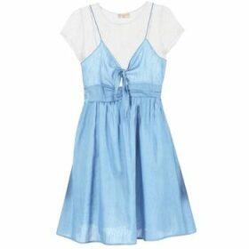 Moony Mood  GLAM  women's Dress in Blue
